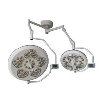 Quality Low cost LED Shadowless OT light double dome ceiling armed, single dome mobile trolly for sale