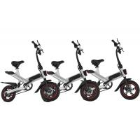 Quality Professional Aluminum Folding Electric Bike Simple And Fashionable Design for sale