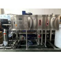 China 1T RO Water Purification Machine 220V / 380V For Small Pure Water Filling Line on sale