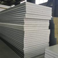 China Colored EPS Steel Roof Sandwich Panel Noise Insulation For Cladding on sale