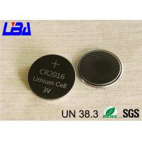 China 75mAh CR2016 Button Batteries Coin Lithium-Manganese Dioxide on sale