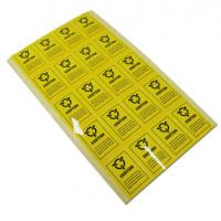 Buy Personalized Adhesive Electronic Product Label , Caution Warning Labels For at wholesale prices
