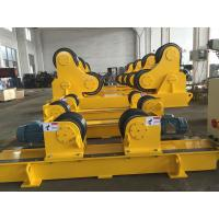 Quality Conventional Pipe Welding Rotator Self Aligning with Digital Turning Speed Display for sale