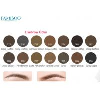 Quality Pure Organic Permanent Makeup Ink PigmentFor Eyebrows 14 Colors Long Lasting for sale
