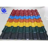Quality Unbreakable Waterproof Synthetic Resin  Roof Tile with ASA Coating for sale
