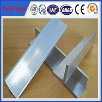 Quality 2015 new products mill finish 6063 customized aluminum angle aluminum extrusion profile for sale