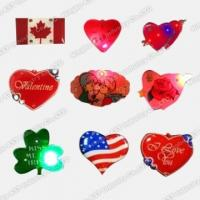 Quality Flashing Led badge S-7003 for sale