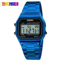 Quality mens watch Digital Rose Gold Watch SKMEI 1123 cool Classic Modern Watches wrist bracelet watches for sale