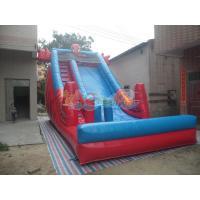Quality Inflatable Spider-man Slide for sale