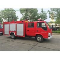 China ISUZU 100P 98HP 2000L Fire Fighting Truck , Water / Foam Fire Engine Truck Euro 5 on sale