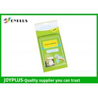 Quality JOYPLUS Microfiber Cleaning Products Microfiber Glass And Mirror Cloth 200GSM for sale