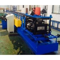 Quality 1 Year Warranty Racking Box Beam Cold Forming Machine For Shelf , 75mm Shaft Diameter for sale