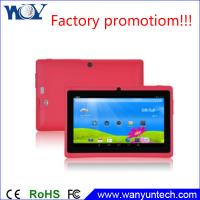 Quality 2015 Newest and cheap PC Tablets 512MB/4GB Dual core Tablet 7 inch for sale