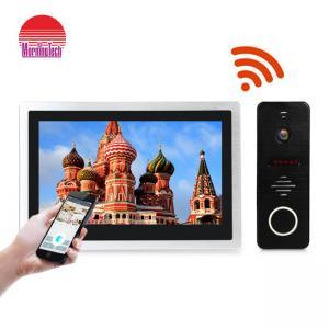 Quality 10 Inch big touch screen ip video intercom wi-fi video door phone doorbell IP video door bell SIP for sale