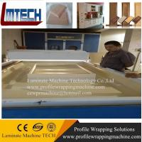Kitchen Cabinet Vacuum membrane press machine for doors making for woodworking for sale