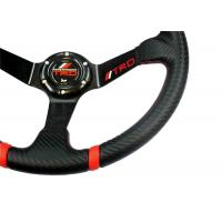 Buy 14 Inch Soft Touch Race Car Steering Wheel With Ergonomic Structure Design at wholesale prices