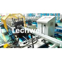 Quality Metal Sheet Hat Channel Roll Forming Machine / Furring Channel Profile With 0-15m/min Forming Speed for sale