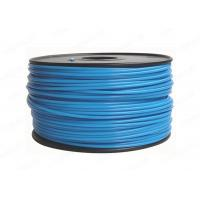 Quality Blue Round 3MM PLA Filament Rapid Prototyping For Cubify UP , 3D Printer Filament for sale