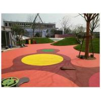 Quality Rubber Material EPDM Rubber Flooring Outdoor Playground Floor For Kids for sale