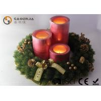 Quality Decorative Led Candles , Advent Wreath Votive Candles Warm White for sale