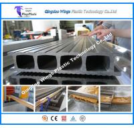 Quality WPC PVC Profiles PE WPC Profiles Outdoor Decking Fence Profile Cross Beam Prfoile Column Profile Extrusion Line for sale