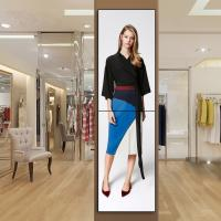 Quality Big Screen LCD Video Wall 4k Full HD , Vertical Interactive 3x1 Video Wall for sale
