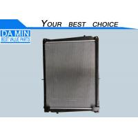 Quality Aluminum ISUZU CXZ Parts Euro Five Radiator Assembly 8982122151 Two Water Pipe Extremly Cold for sale