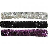 Buy Sparkles Elastic Hair Bands 2A0074 at wholesale prices