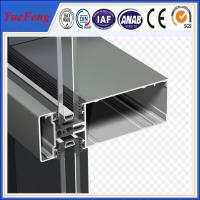 Quality New! china construction aluminum extrusion, curtain wall aluminium profiles for sale