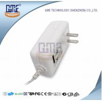Buy AC DC 12V 2A Power Adapter , US Overseas Plug Adapters CEC Level VI at wholesale prices