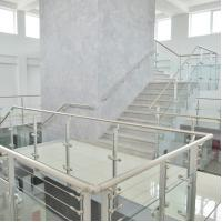 Buy cheap Customized Modern High Quality Stainless Steel Glass Railing for Stairs from wholesalers