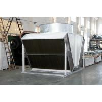 Quality tube fin adiabatic air cooled condensers dry coolers for airport for sale