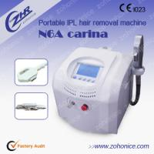 Quality Professional Ipl Skin Rejuvenation Machine / Hair Shaving Machine , Protable for sale