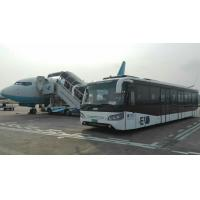Buy Fully Aluminum Body Airport Bus 110 Passengers 24m2 Standing Area at wholesale prices