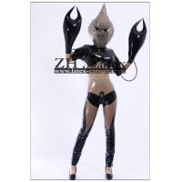 China 100% handmade ,Inflatable bras,hand and mask latex catsuit/zentai on sale