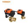 2 Way Hvac System Fan Coil Flow Control Valve For VRV Heat Pump Heating System for sale