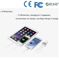 Quality ABS material dual port usb car charger wholesale for cell phone charger for sale