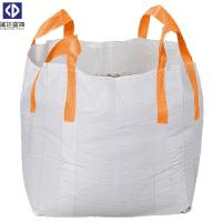 Quality Virgin PP Material 1 Ton Tote Bags / Flexible Bulk Container For Packing for sale