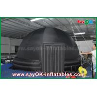 Quality 6m Black Oxford Cloth Inflatable Planetarium Dome Portable Tent for School for sale