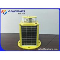 Quality Red Solar Obstruction Light With Die Casting Aluminum ICAO FAA Standard for sale