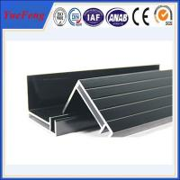 Quality supply aluminum angle extrusion, high quality solar panels supporting rod aluminium profil for sale