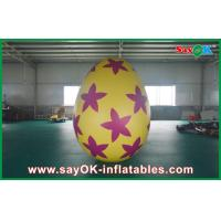 Quality 6m Inflatable Holiday Decorations Pvc Easter Egg for Advertising / Party for sale