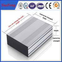 Quality ALUMINUM EXTRUDED POWER ENCLOSURE 104*28*L MM (W*H*L) ALUMINUM PROFILES INSTRUMENTS ENC for sale