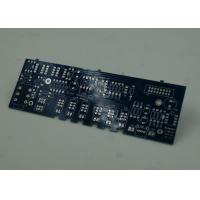 Quality Blue FR4 PCB Printed Circuit Board Immersion Silver Finish White Silkscreen for sale