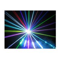 Buy AC 90 - 240V Red Green Stage Laser Lighting 3000mW , 3W RGB laser light at wholesale prices