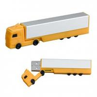 China Truck shape Customized USB Flash Drive with 256MB, 512MB, 1GB, 2GB capacity (MY-U049) for sale