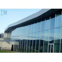 China Aluminium Thermal Break Curtain Wall , Customized Invisible Frame Curtain Wall on sale