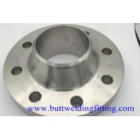 Buy cheap Pipeline Connection Forged Steel Welding Neck Flange 4'' S40 F304H Class300 from wholesalers