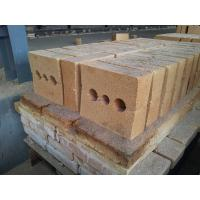 Quality Shaped Insulating Fire Clay Brick Refractory For Pizza Oven / Blast Furnaces for sale