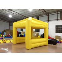 Quality Sports Inflatable Party Tent 3 X 3m , Festival Large Inflatable Tent Digitally Printed for sale